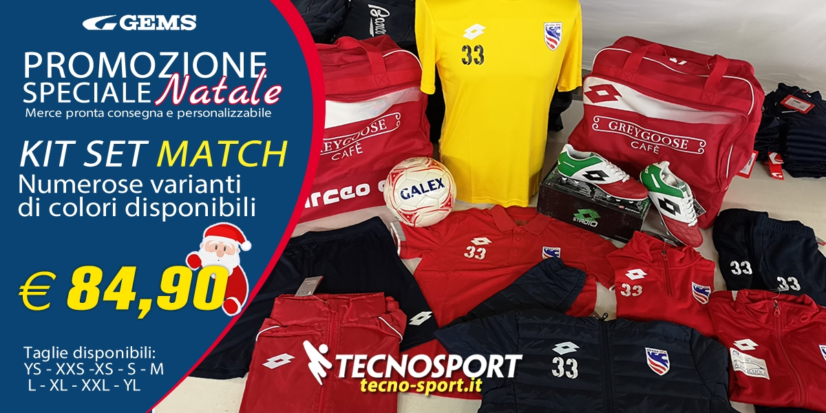 Promozione Speciale Kit Set Match Natale 2018