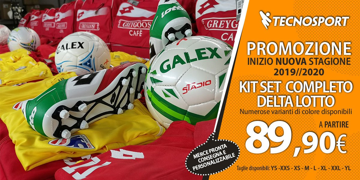Promo Kit Set Completo Delta Lotto
